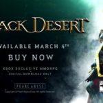 Black Desert Online ya está disponible en Xbox One