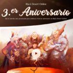 Black Desert continúa con las celebraciones del tercer aniversario