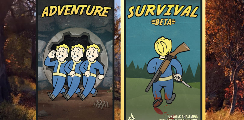 Disponible la beta del modo Supervivencia de Fallout 76