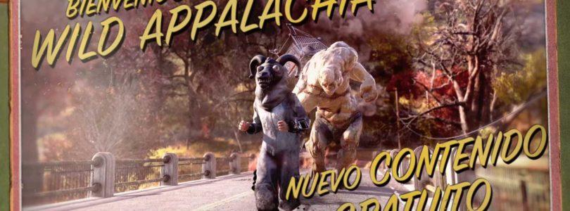 Wild Appalachia llega a Fallout 76 con nuevas misiones, contenidos y cambios