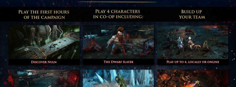 Arranca la segunda beta privada de Warhammer: Chaosbane