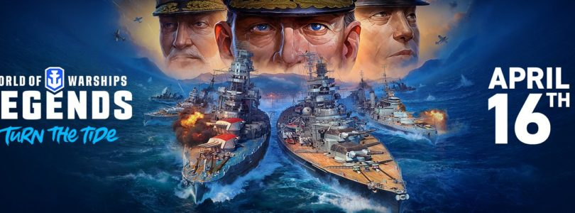 World of Warships: Legends llega a consolas el próximo 16 de abril