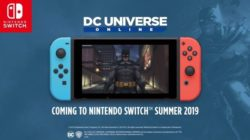 DC Universe Online llegará a Switch este verano