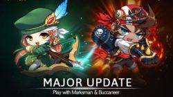 MapleStory M se actualiza con el Buccaneer y el Marksman