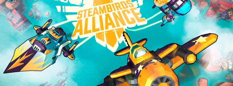 Participa en la Beta Abierta de Steambirds Alliance un MMO bullet-hell shooter
