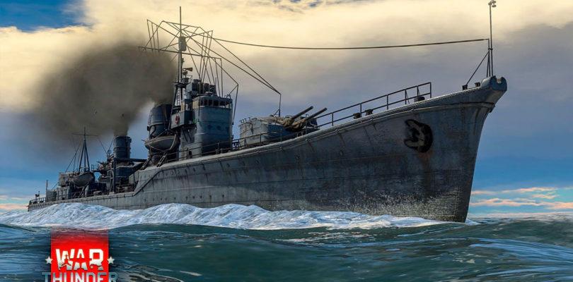 La Flota Japonesa llegará pronto a War Thunder