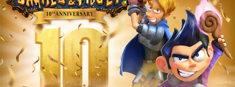 Shakes & Fidget celebra su 10º aniversario