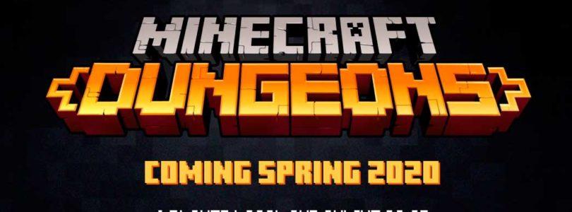 E3 2019: Tráiler de Minecraft Dungeons, un nuevo ARPG cooperativo de los creadores de Minecraft