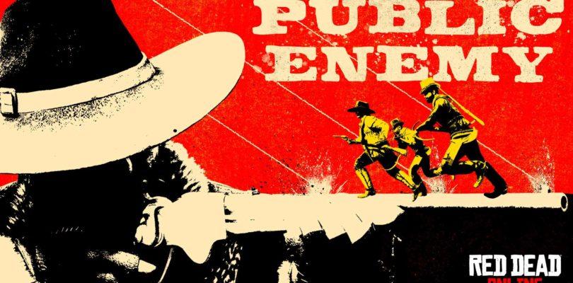 El modo Enemigo Público llega a Red Dead Online
