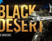 Black Desert ya tiene fecha para su beta en PS4