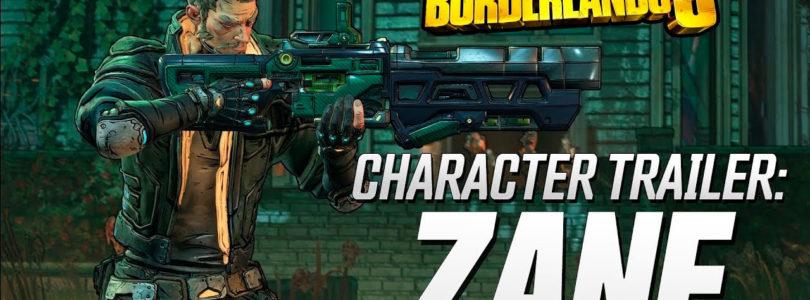Borderlands 3 – Tráiler de presentación de Zane