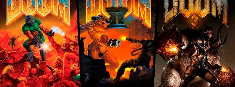 Los juegos clásicos de DOOM llegan a consolas y móviles