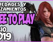 Juegos Free-To-Play julio 2019 – Novedades y Lanzamientos