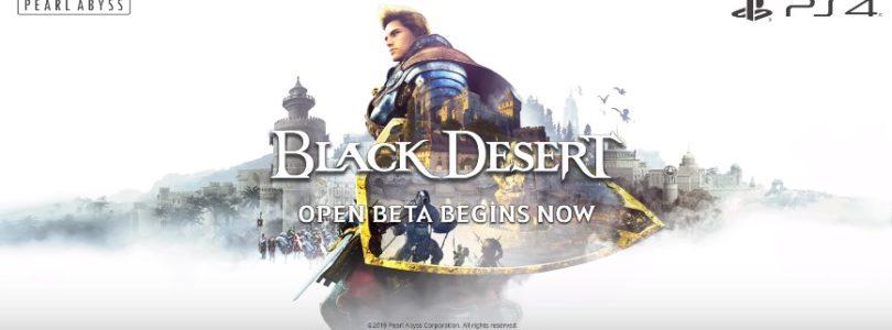 Disponible la beta abierta de Black Desert Online en PlayStation 4