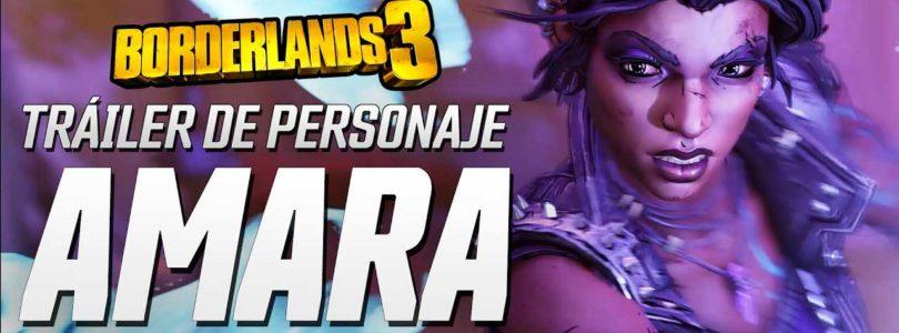 La presentación de Amara en el nuevo tráiler de Borderlands 3