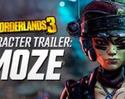Borderlands 3 – Tráiler de presentación del personaje de Moze