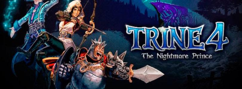 Trine 4: The Nightmare Prince – Fecha de lanzamiento y nuevo tráiler de sus novedades