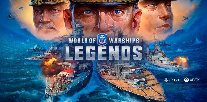 World of Warships: Legends se lanza oficialmente para PS4 y Xbox One
