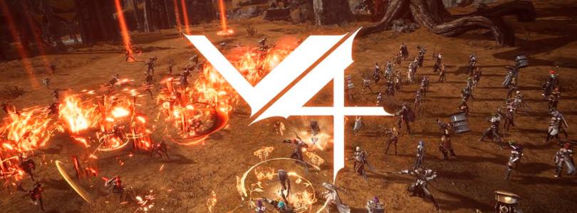 Empezó la beta abierta de V4 en Corea, el nuevo MMORPG para móviles de Nexon