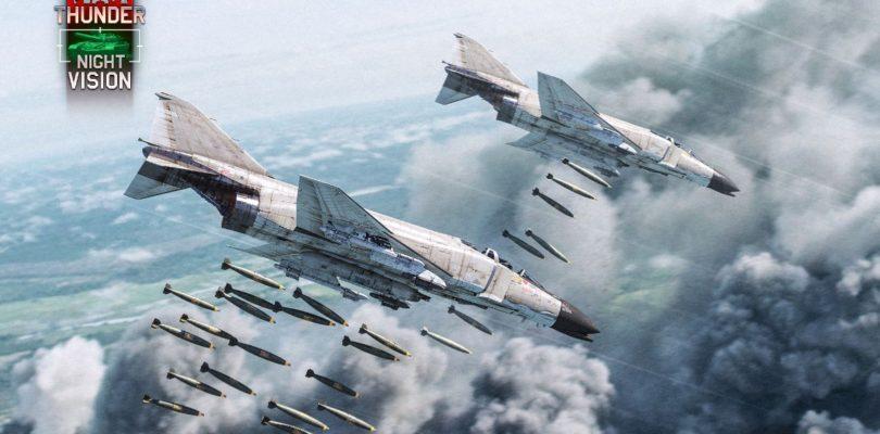La última actualización de War Thunder trae Visión Nocturna y Ópticas Térmica, legendarios aviones de combate de la era de Vietnam y más