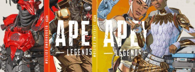 Apex Legends llega en formato físico con las ediciones especiales protagonizadas por Lifeline y Bloodhound