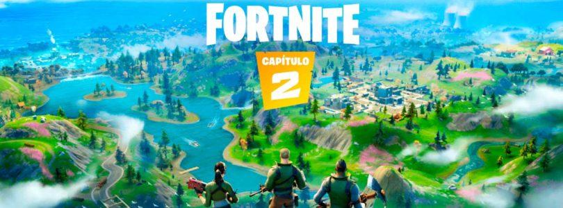 Llega el capitulo 2 de Fortnite con un nuevo mapa y nuevas formas de ganar experiencia