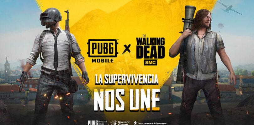PUBG Mobile y The Walking Dead anuncian un crossover