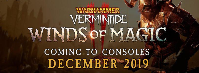 La expansión de Warhammer Vermintide 2, Winds of Magic, llegará a PS4 y Xbox One en diciembre