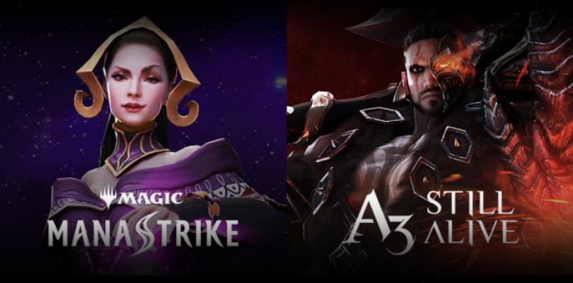G-Star 2019 – A3: Still Alive, un MMO PvP para móviles y Magic: Mana Strike, un juego de cartas
