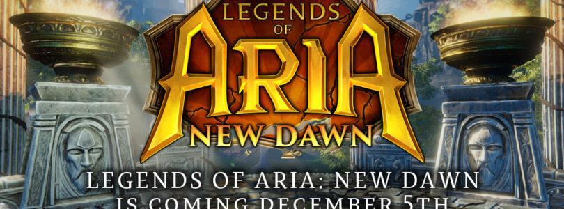 Legends of Aria será Free to Play y agreagará nuevo contenido el 5 de diciembre
