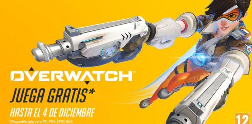 Overwatch gratis hasta el 4 de diciembre