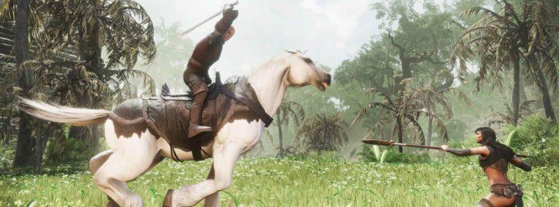 Las monturas, combate a caballo, y el nuevo DLC, llegarán a Conan Exiles el 5 de diciembre