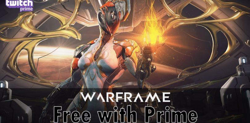 Regalos gratis para Warframe con Twitch Prime
