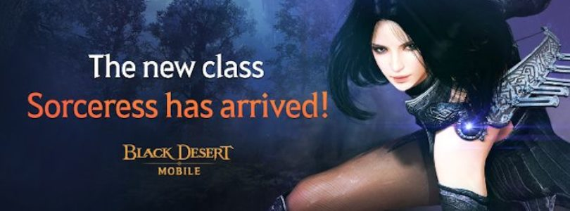 Ya está disponible la Sorceress en Black Desert Mobile