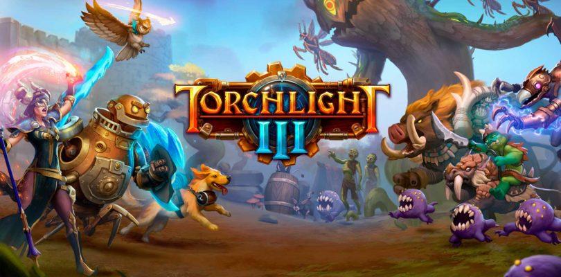 Hoy es el lanzamiento oficial de Torchlight III en Playstation 4, Xbox One y Steam