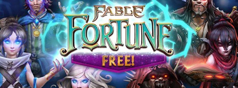 Cierra el juego de cartas Fable Fortune