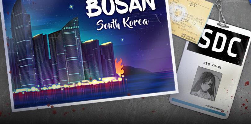 La nueva actualización de Closers nos lleva a Busan