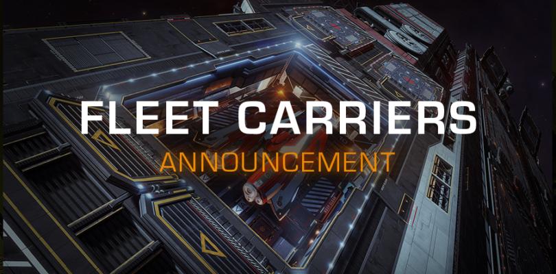 Elite Dangerous enseñará sus Fleet Carriers el 2 de abril y los jugadores podrán probarlos, en Beta PC, el 7