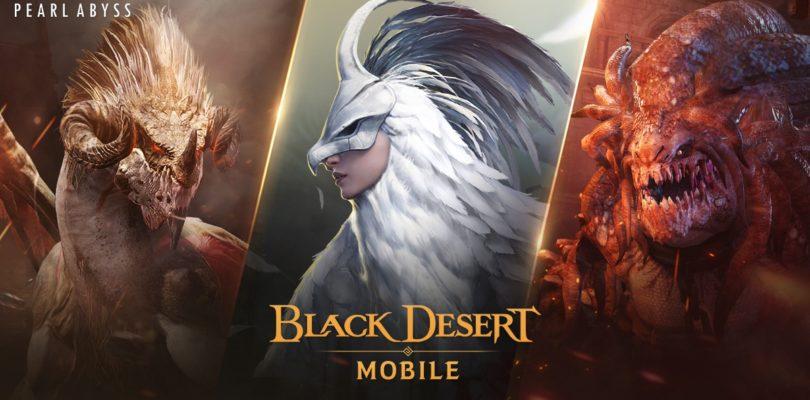 La Temporada 2 de los Jefes de Mundo llega en Black Desert Mobile