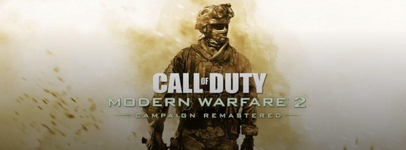 Activision anuncia la campaña remasterizada de Call of Duty: Modern Warfare 2