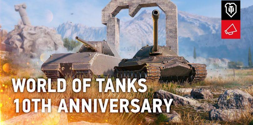 World of Tanks celebra su décimo aniversario