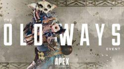 Las Viejas Costumbres de Bloodhound llegarán a Apex Legends el 7 de abril