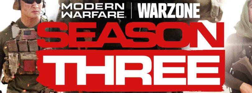 Call of Duty: Warzone arranca hoy su 3ª temporada con grupos de 4 jugadores