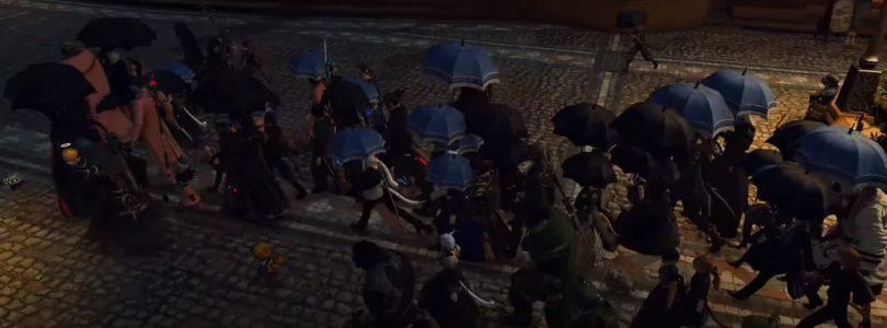 Los jugadores de FFXIV celebran un funeral por un compañero muerto por el COVID-19