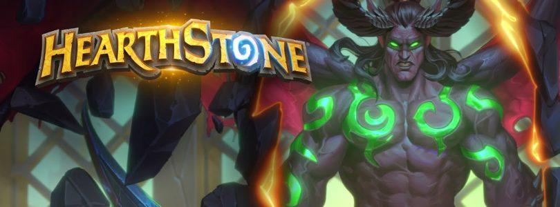 El cazador de demonios estará disponible de manera oficial el 7 de abril a Hearthstone