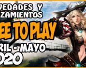Juegos FREE-TO-PLAY abril-mayo 2020 – Nuevos lanzamientos y recomendaciones
