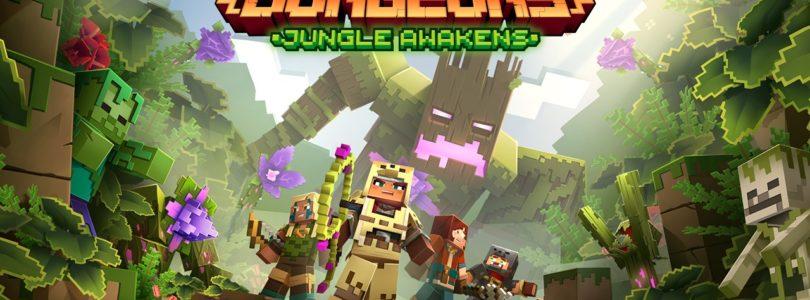 Jungle Awakens, el primer DLC para Minecraft Dungeons que se lanzará en julio