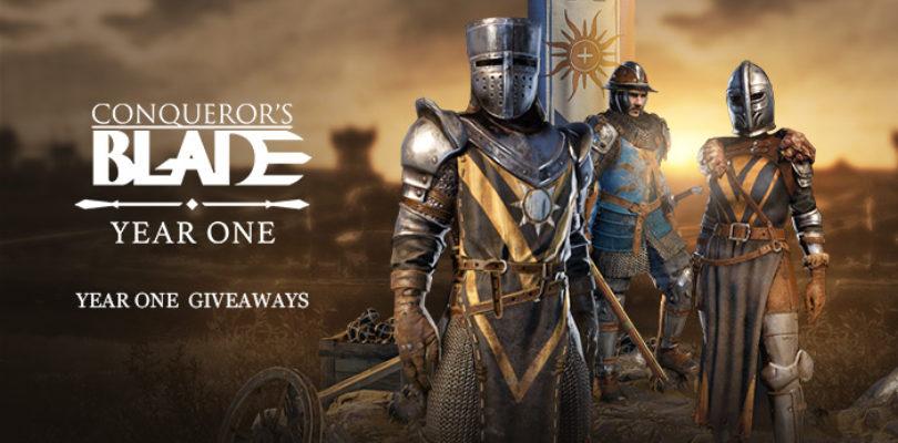 ¡Repartimos 200 packs Año Uno para Conqueror's Blade!