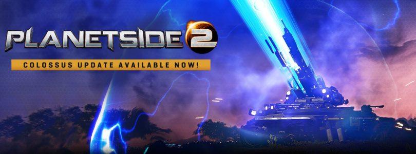 PlanetSide 2 presenta un trailer y su actualización Colossus