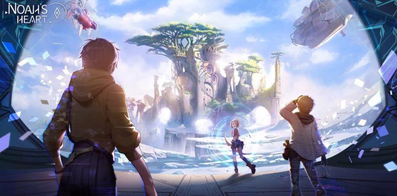 Noah's Heart es un nuevo MMORPG para móviles situado en un cautivador mundo abierto de fantasía